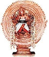 Sri Sudarsana, The Wheel God Known as Chakrathazhwar.